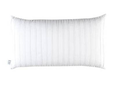 Breakfast Pillow White Pintuck