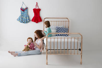 Eden Metal Bed by Incy Interiors - King Single