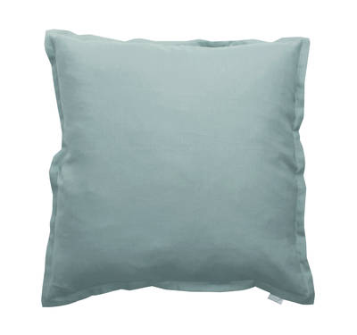 100% Linen Euro Pillowcase in Oasis