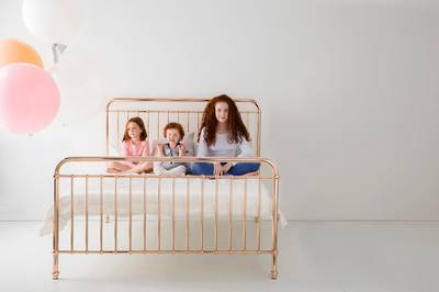 Eden Metal Bed by Incy Interiors - Queen