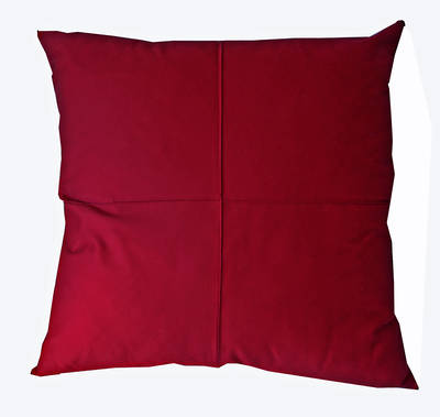 Gorgi Scarlet Cotton Drill Euro Cushion Cover