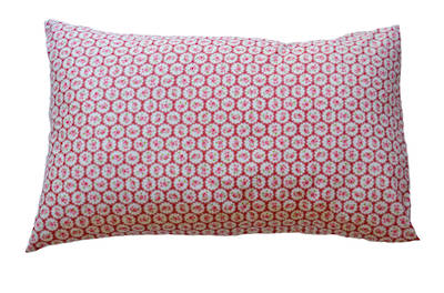 Gorgi Sweet Raspberries Vintage Lace Print Pillowcase