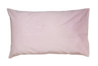 Gorgi Pink 100% Cotton Drill Standard Pillowcase