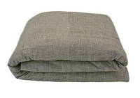 Gorgi Ikebana Collection Bark Linen Duvet Cover Set - Queen