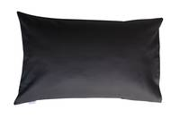 Stola Charcoal 100% Cotton Drill Standard Pillowcase