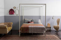Four Poster Bed by Incy Interiors in Off-White - King/Super King
