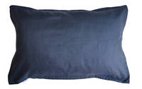Pair of 100% Linen Oxford Pillowcases in Ink (Navy)