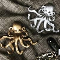 Octopoda Six Arm Key Hook