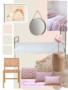 Decorators Notebook - Sylvie Pink Base