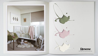 Decorators Notebook with Resene - Nursery