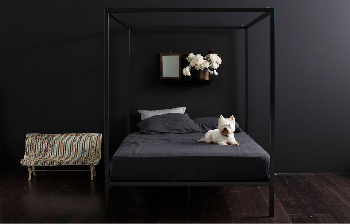 Incy bed Black four poster-890