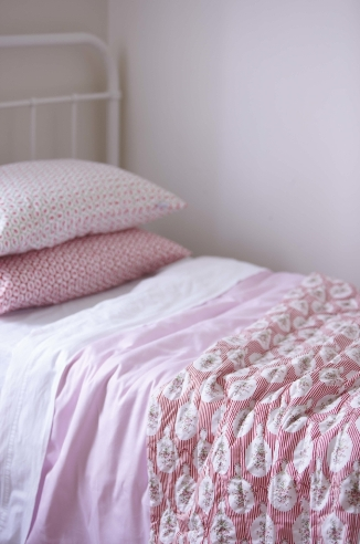Tailor Made by Gorgi Duvet Cover in Soft Pink
