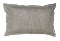 Pair of Gorgi Grey Marl Linen Oxford Pillowcases
