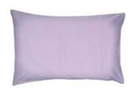 Gorgi Lilac 100% Cotton Drill Standard Pillowcase