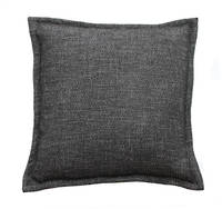 Gorgi Black & White Wool Thatch Cushion