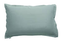 Pair of 100% Linen Oxford Pillowcases in Oasis